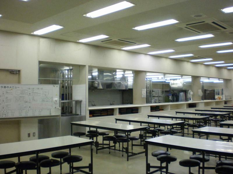 写真:食堂(料理場)