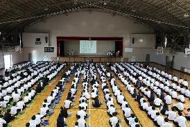 生徒総会①
